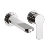Crosswater Wisp Wall Mounted Basin Mixer Set