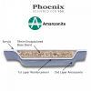 Phoenix Rectangularo 2 Luxury Bath 1700 x 700mm