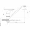 Crosswater Vital Single Lever Kitchen Mixer