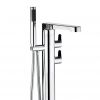 Crosswater Wisp Thermostatic Bath Shower Mixer with Shower Kit