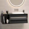 VitrA Frame 1 Drawer 80cm Vanity with Bowl