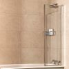 Roman Lumin8 Inward Folding Bath Screen