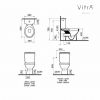 Vitra Milton Close Coupled Toilet