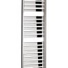 Bauhaus Edge Flat Panel 500 Towel Warming Radiator