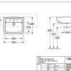Villeroy & Boch SOHO (Subway) Semi Countertop Basin