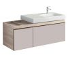 Geberit Citterio Vanity Unit with Two Drawers and Washbasin
