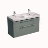 Geberit Smyle 120cm Double Vanity Unit with 2 Drawers