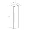 Geberit iCon 150cm Mirror Door Cabinet