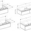 Geberit iCon Vanity Unit with Drawer