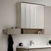 Geberit Acanto Two Door Mirror Cabinet with Lighting
