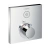 Hansgrohe ShowerSelect Square Mixer For Concealed Installation
