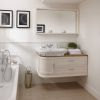 Imperial Carlyon Thurlestone Wall Hung Offset Vanity Unit