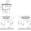 Vitra Sento 500mm Compact Basin