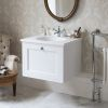 Burlington 65 Wall Hung Vanity Unit with Single Drawer
