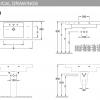 Villeroy and Boch Architectura Vanity Washbasin 1300mm