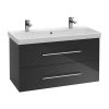 Villeroy and Boch Avento Double Vanity Wash Station