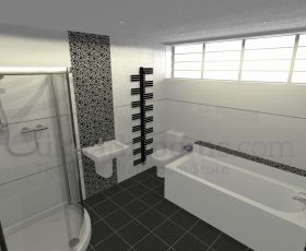 Monza Basin, WC, Shower & Bath Suite