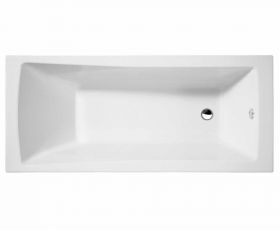 Essential Tide Single Ended Square Bath