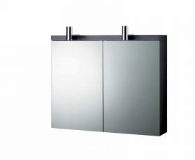 Ideal Standard Daylight Mirrored Wall Cabinet With Lights 800mm