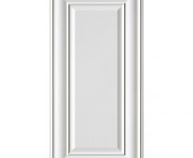 Imperial Bathrooms Edwardian Panel Tile White 30 x 60cm