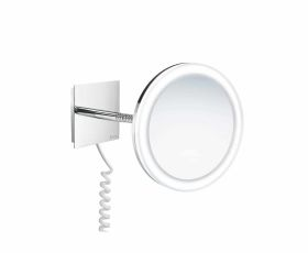 Smedbo Outline Shaving/Make-up Mirror with LED lighting FK475