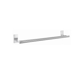 Smedbo Pool Double Towel Rail in Polished Chrome ZK3364