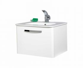 Phoenix Dee Wall Hung Unit & Basin 60cm
