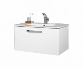 Phoenix Dee Wall Hung Unit & Basin 80cm
