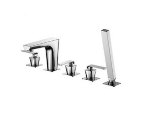 Phoenix XR Series 5 Hole Deck Mounted Bath Shower mixer
