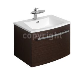 Bauhaus Stream 59 Single Drawer Unit & Basin