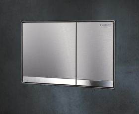 Geberit Sigma 60 Brushed Chrome Flush Plate