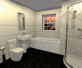 Veneto Basin, WC, Shower & Bath Suite