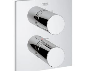 Grohe G3000 Cosmo Square Trim with Rapido T Shower Mixer