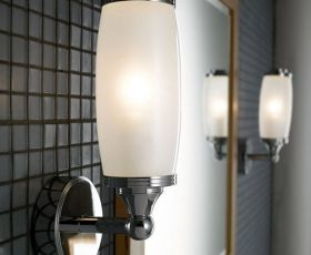 Imperial Toledo Single Wall Light & Glass Shade