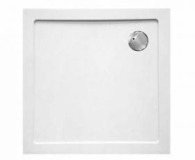 ClearGreen 35mm Low Profile Square Shower Tray