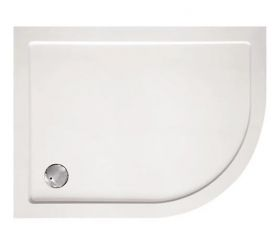 ClearGreen 35mm Low Profile Offset Quadrant Shower Tray