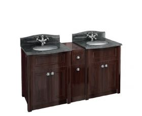 Burlington Granite Double Vanity Package