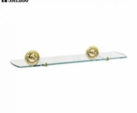 Smedbo Villa Glass Bathroom Shelf 600mm