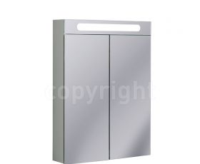 Bauhaus 60 Mirrored Aluminium Wall Hung Cabinet