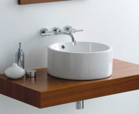 Phoenix Susan Circular Counter Top Basin VB003