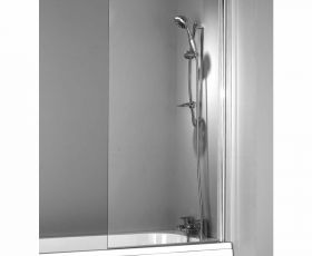Phoenix Single Square Bath/Shower Screen