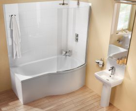 ClearGreen Ecoround Contemporary Shower Bath Package