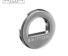 Britton Chrome Basin Overflow Ring
