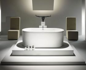Kaldewei Centro Duo Oval Freestanding Bath