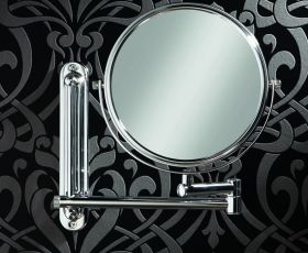 HIB Tila Double Arm 20cm magnifying mirror