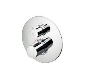 Ideal Standard Concept Easybox Slim Bath Shower Mixer with Round Faceplate