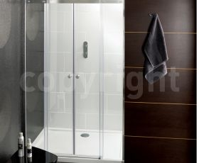 Simpsons Central Double Sliding Shower Enclosure