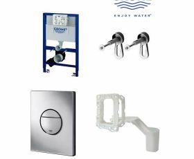 Grohe 4 In 1 Nova Fresh Concealed Frame Package