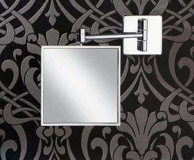 HIB Tori Multi Position Wall Mounted Magnifying Mirror