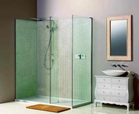 Matki Boutique Corner Walk-in Shower Enclosure with Side Panel 1700mm